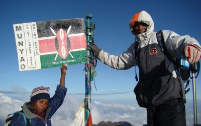 Mount Kenya Trekking Routes